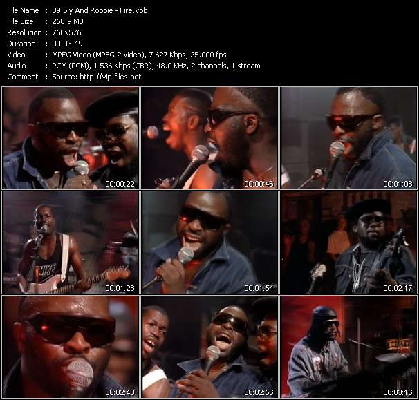Sly And Robbie Video Clip(VOB) vob