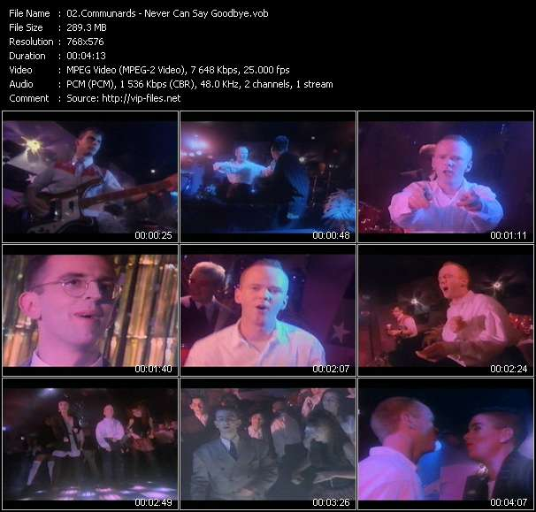 Communards Video Clip(VOB) vob