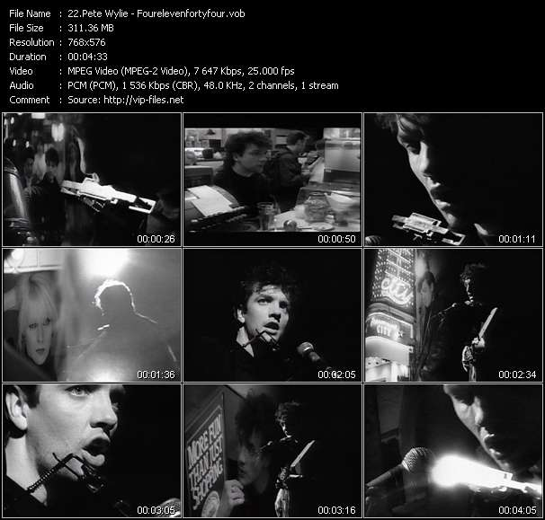 Pete Wylie Video Clip(VOB) vob