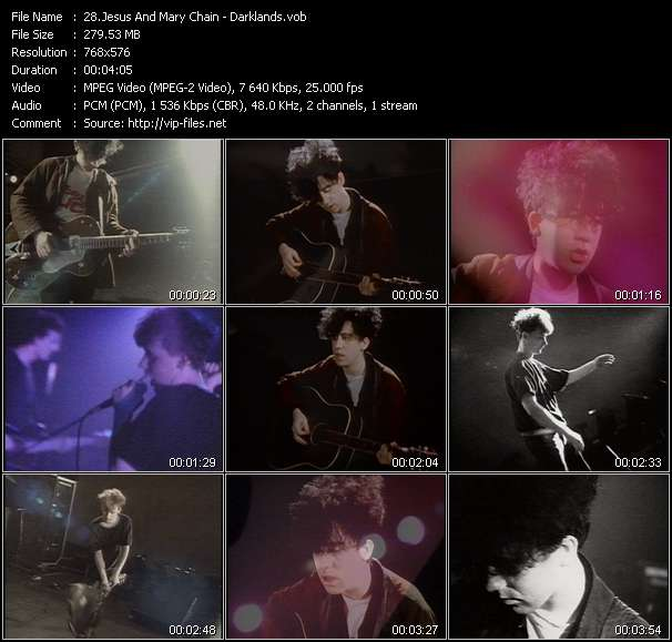 Jesus And Mary Chain Video Clip(VOB) vob