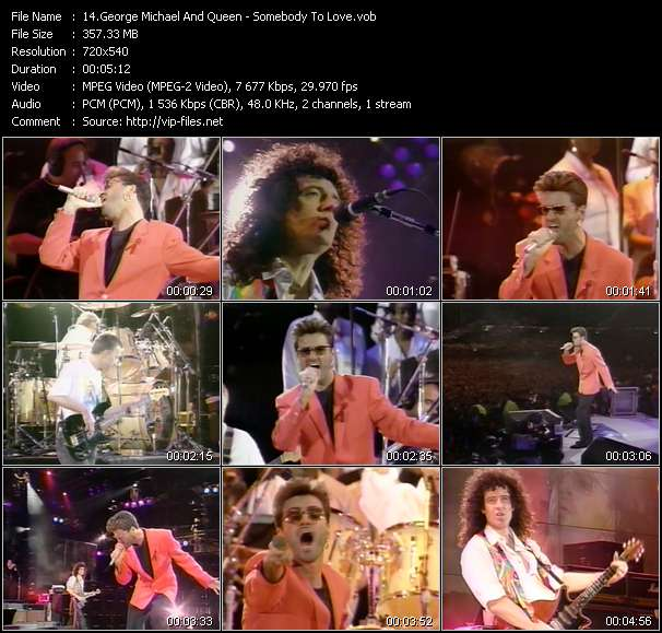 George Michael And Queen Video Clip(VOB) vob