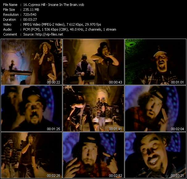Cypress Hill Video Clip(VOB) vob
