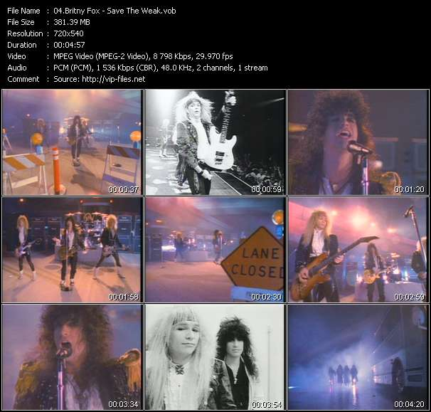 Britny Fox Video Clip(VOB) vob