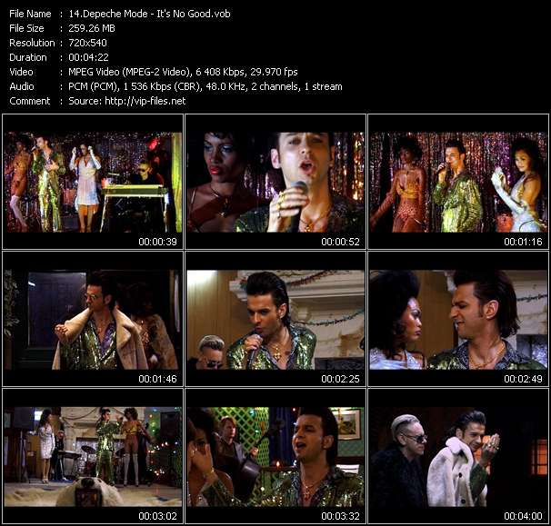 Depeche Mode Video Clip(VOB) vob