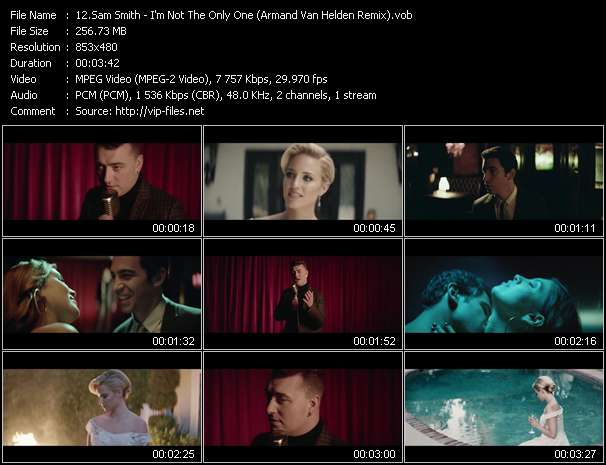 Sam Smith Video Clip(VOB) vob