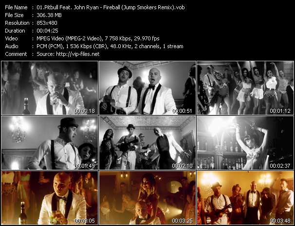 Pitbull Feat. John Ryan Video Clip(VOB) vob