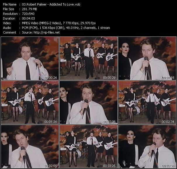 Robert Palmer Video Clip(VOB) vob