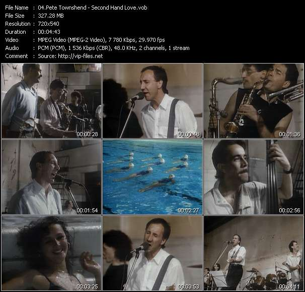 Pete Townshend Video Clip(VOB) vob