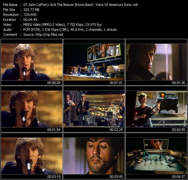 John Cafferty And The Beaver Brown Band Video Clip(VOB) vob
