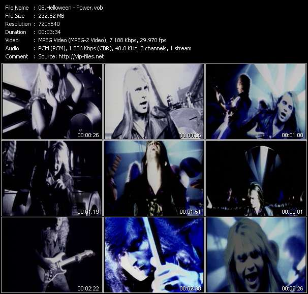 Helloween Video Clip(VOB) vob