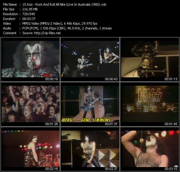 Kiss Video Clip(VOB) vob