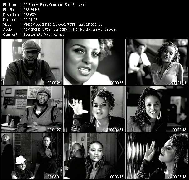 Floetry Feat. Common Video Clip(VOB) vob