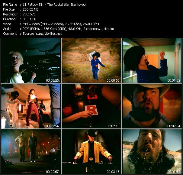 Fatboy Slim Video Clip(VOB) vob