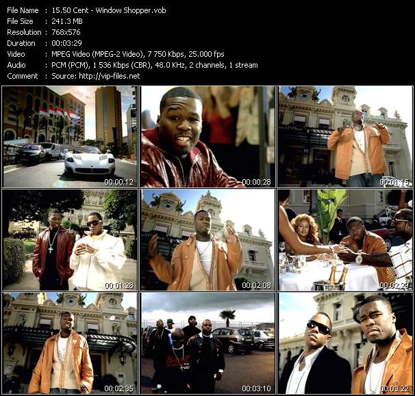 50 Cent Video Clip(VOB) vob