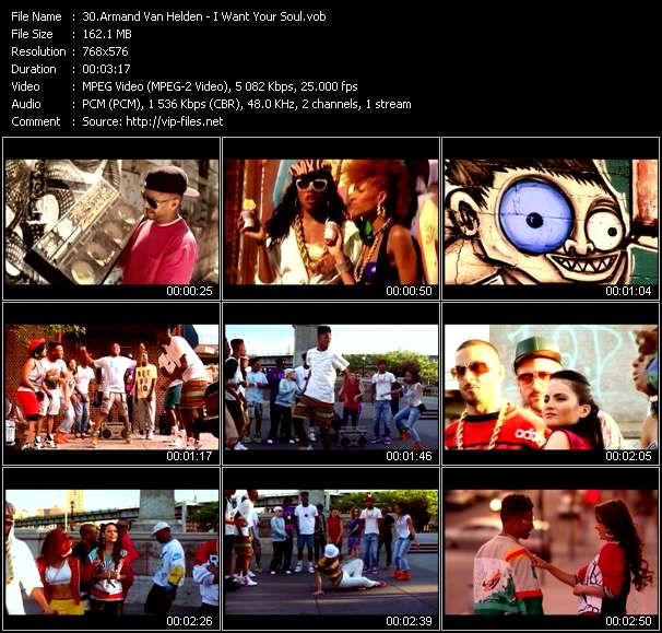 Armand Van Helden Video Clip(VOB) vob