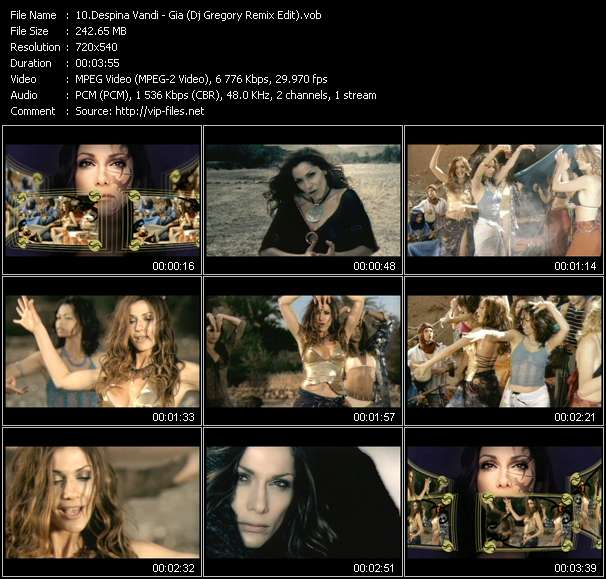Despina Vandi Video Clip(VOB) vob