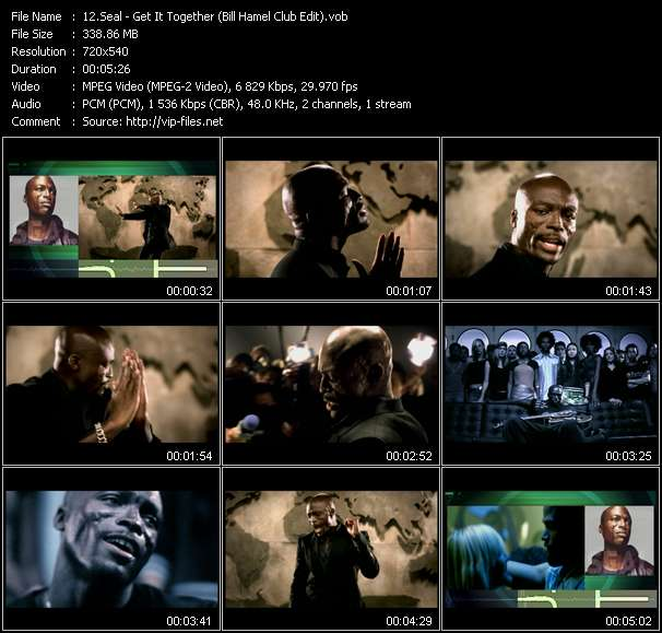 Seal Video Clip(VOB) vob