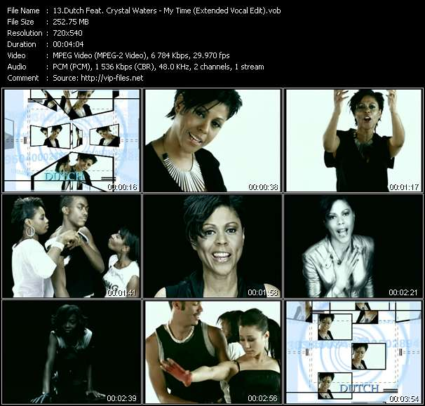 Dutch Feat. Crystal Waters Video Clip(VOB) vob