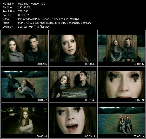 Lamb Video Clip(VOB) vob