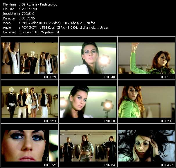 Roxane Video Clip(VOB) vob