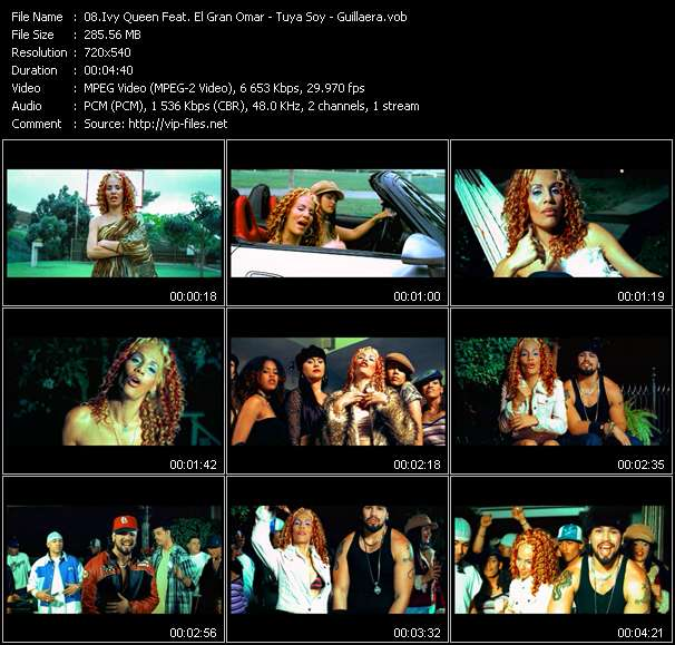 Ivy Queen Feat. El Gran Omar Video Clip(VOB) vob