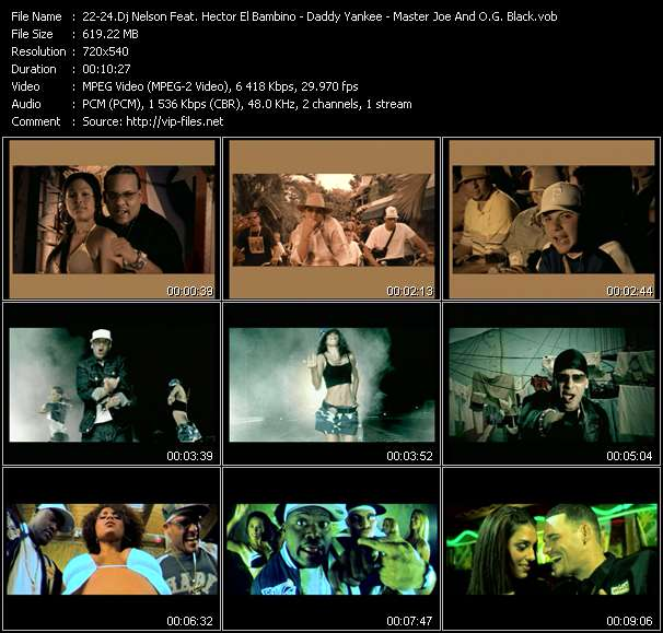 Dj Nelson Pres. Flow La Discoteka Feat. Hector El Bambino - Daddy Yankee - Master Joe And O.G. Black Video Clip(VOB) vob
