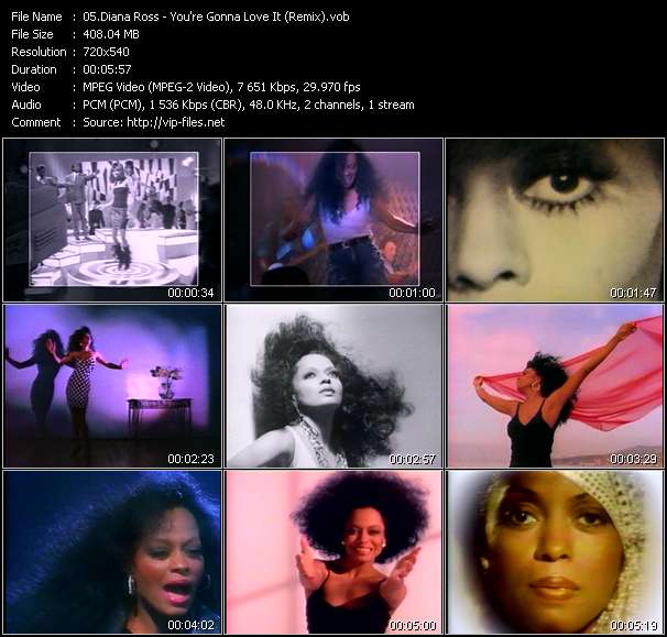 Diana Ross Video Clip(VOB) vob