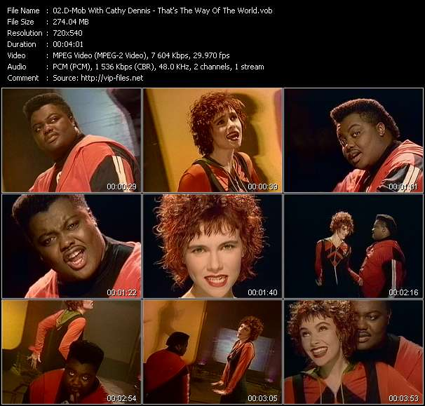 D-Mob With Cathy Dennis Video Clip(VOB) vob