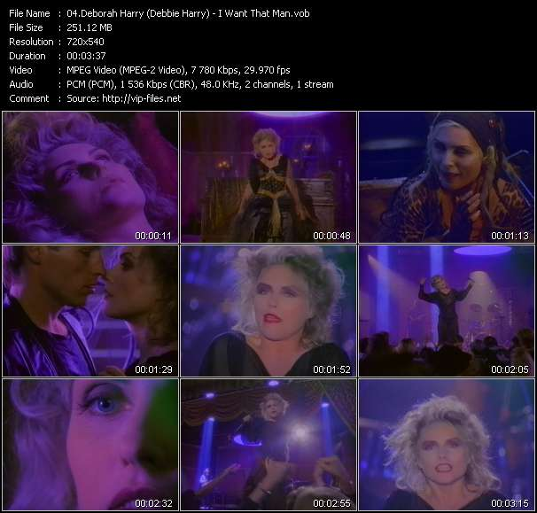 Deborah Harry (Debbie Harry) Video Clip(VOB) vob
