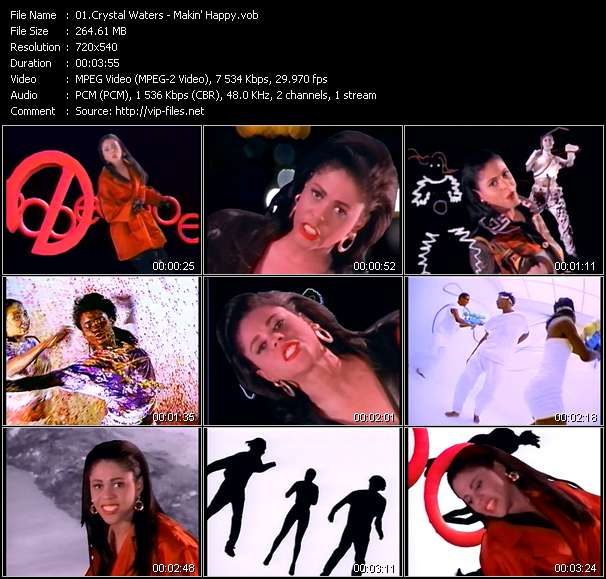 Crystal Waters Video Clip(VOB) vob