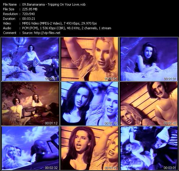 Bananarama Video Clip(VOB) vob
