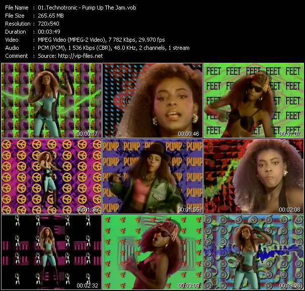 Technotronic Video Clip(VOB) vob