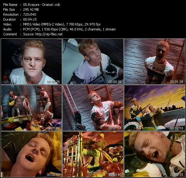 Erasure Video Clip(VOB) vob