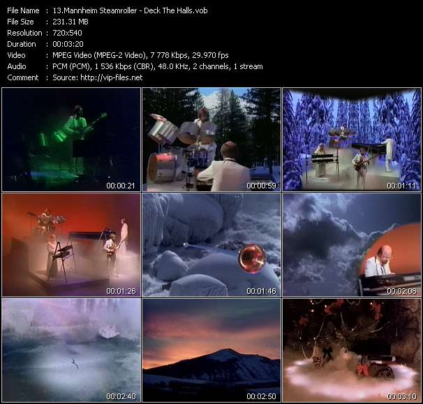 Mannheim Steamroller Video Clip(VOB) vob