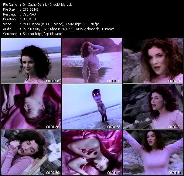 Cathy Dennis Video Clip(VOB) vob