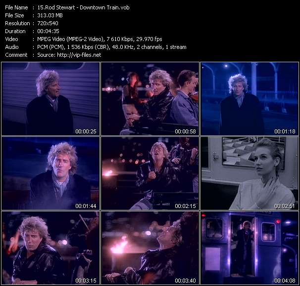 Rod Stewart Video Clip(VOB) vob