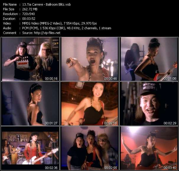 Tia Carrere Video Clip(VOB) vob