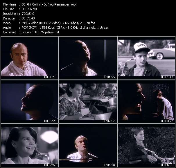 Phil Collins Video Clip(VOB) vob
