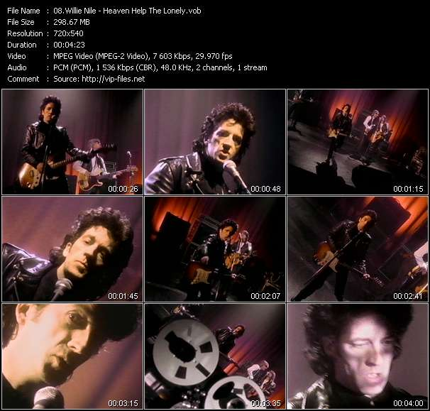 Willie Nile Video Clip(VOB) vob