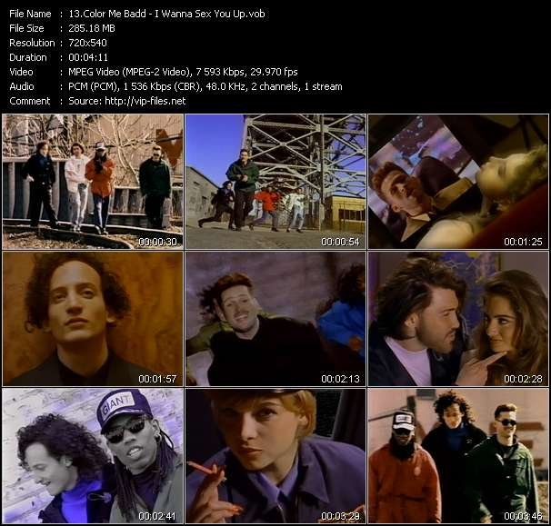 Color Me Badd Video Clip(VOB) vob