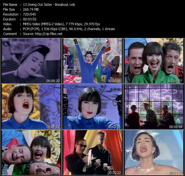 Swing Out Sister Video Clip(VOB) vob