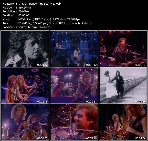 Night Ranger Video Clip(VOB) vob