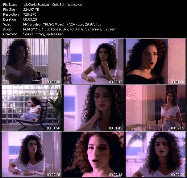 Gloria Estefan Video Clip(VOB) vob