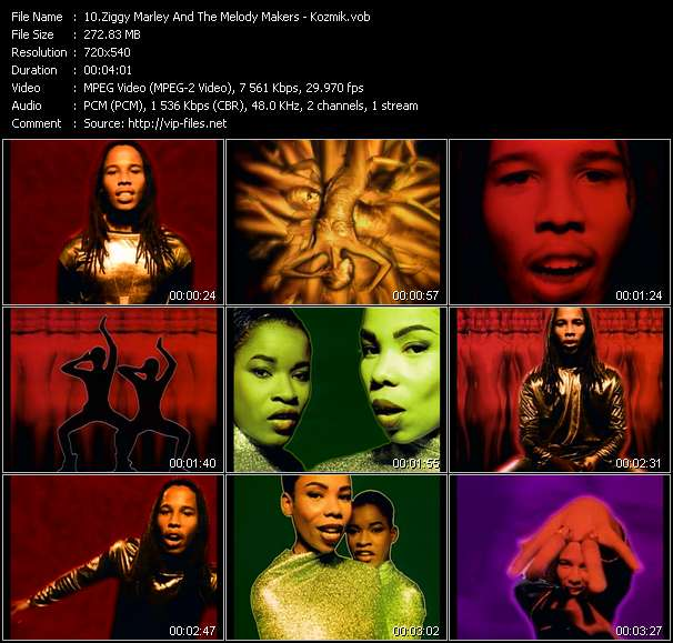 Ziggy Marley And The Melody Makers Video Clip(VOB) vob