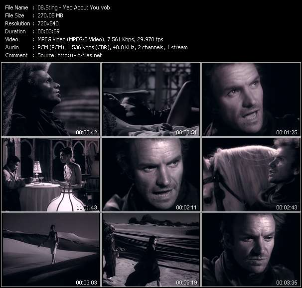 Sting Video Clip(VOB) vob