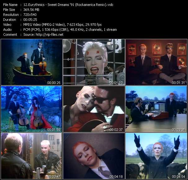 Eurythmics Video Clip(VOB) vob