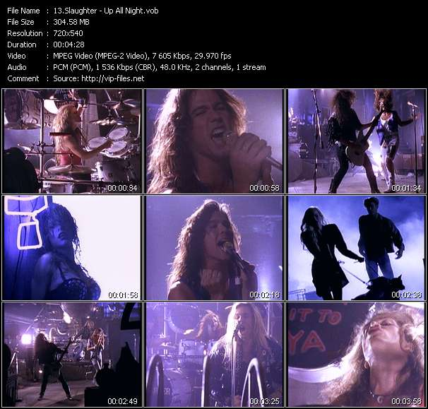 Slaughter Video Clip(VOB) vob