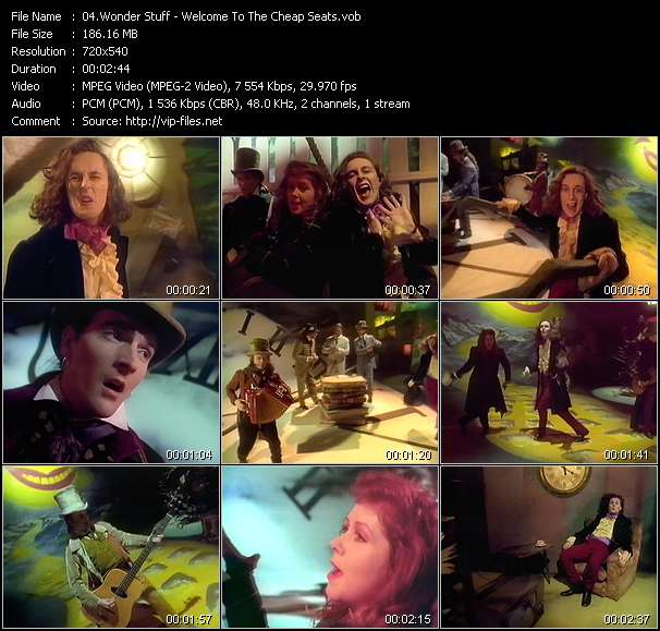 Wonder Stuff Video Clip(VOB) vob