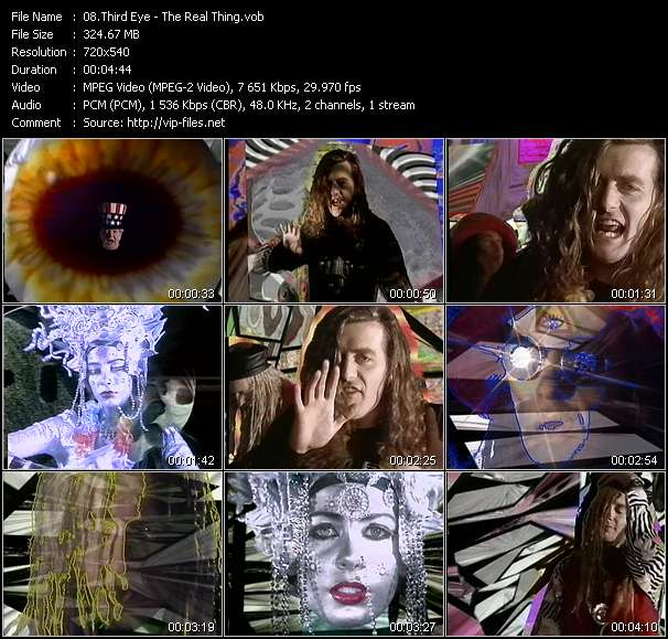 Third Eye Video Clip(VOB) vob