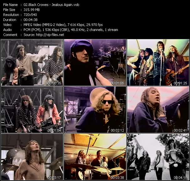 Black Crowes Video Clip(VOB) vob